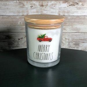 Rae Dunn Merry Christmas 10.5oz Winter Pine Candle